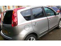 Nissan Note SVE Petrol Car