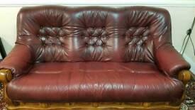 Leather Sofa!
