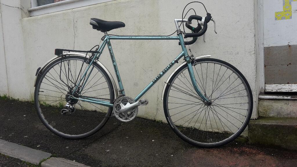 Claud Butler Reynolds 531c Steel Frame Touring Bike - Large 58cm ...