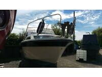23ft Fairliner holiday, powerboat boat