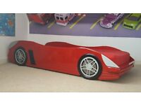 Red Sports Car Single Bed (Kids)