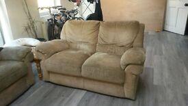 Beige 3 Piece Sofa
