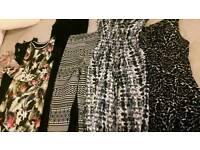 Collection of skirts dresses and playsuits