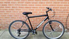 black mouintain bike