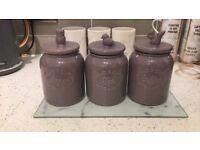 Next tea coffee sugar storage jars