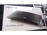 Brand new 4k samsung blueray player