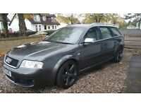 2003 Audi RS6 4.2 V8 twin turbo avant. FSH and recent cambelt change