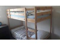 Ikea kids bunk bed.