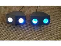 2 X LED DISCO LIGHTS FOR SALE