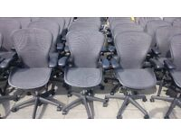 Herman Miller Aeron Chairs **SIZE A / B & C in stock** Huge selection & Free Local delivery