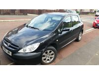 PEUGEOT 307, 2.0 HDI, 2002, MOT OCTOBER, RUNS AND DRIVES WELL,