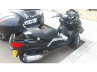 2011 Piaggio MP3 LT Sport Touring which can be driven on a normal drivers licence NO CBT NEEDED