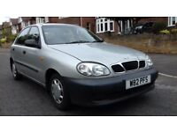 VERY LOW MILEAGE 37k DAEWOO LANOS 1.3 FULL DOCUMENTED SERVICE HISTORY