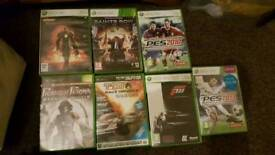 Xbox 360 games 11 games for sale