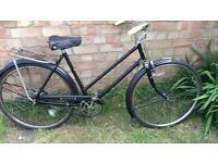New Hudson vintage bike works great only £75