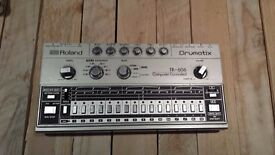 Great Condition Roland TR 606 Drumatix Vintage Analog Drum Machine Sequencer + Manual + Power Cable
