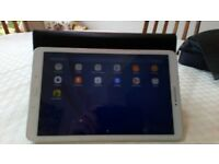 Samsung T580 Tab A Tablet in white