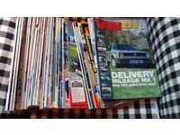 Bundle of vw motoring magazines