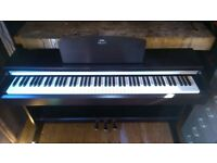Yamaha Arius YDP-141R digital piano and stool in rosewood colour