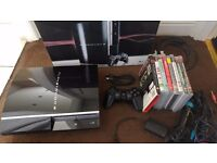 Playstation 3 Upgraded to 1tb Hardrive with 8 games