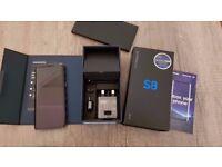 SAMSUNG S8 IN BOX/ VISIT MY SHOP. /UNLOCKED / 64 GB/ GRADE A / SAMSUNG WARRANTY + RECEIPT