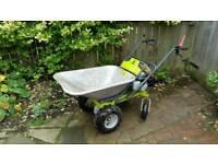 Grillo honda petrol garden builders wheelbarrow mini dumper powered barrow truck