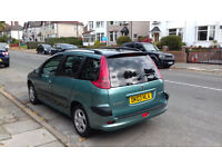 1.4 turbo diesel peugeot 206 estate only £30 a year road tax
