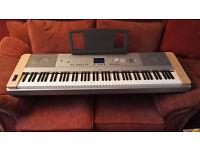 Yamaha DGX-640 Cherry Finish [88 Key Digital Piano   Used - Excellent Condition]