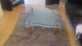 GLASS COFFEE TABLE QUICK SALE £15