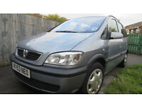 Vauxhall Zafira 53 plate, Automatic, Guarantee Engine and Gearbox. Good in fuel consumption