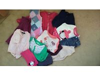 Girl's Autumn/Winter Clothes Bundle 18 Months - 2 Years