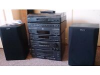 SONY LBT-D107 Stereo Hi-Fi System