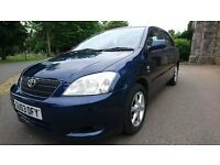 Toyota Corolla TSPIRIT 2.0 D4D Cambelt & Water Done On The 06/05/2016 full service history 9 stamps