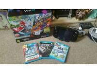 Wii u 32gb & 4 games