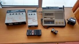 Philips dictaphone and transcription unit