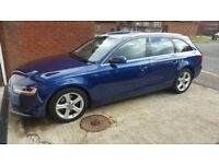 AUDI A4 2013 2.0 tdi ESTATE 1 OWNER FROM NEW FULLY LOADED LEATHER INTERIOR SAT NAV £30 TAX A YEAR