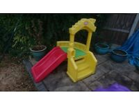 Little tikes slide for ages 1/3 year of age, really good condtition