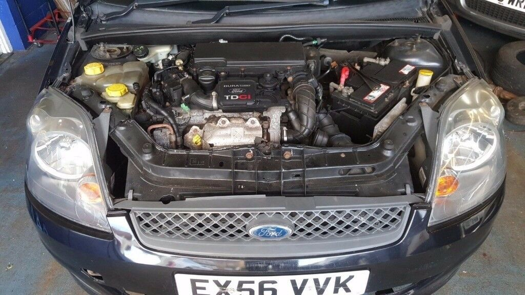 BREAKING 2006 FORD FIESTA 1.4 TDCI BARE ENGINE GOOD CONDITION SUPERB DRIVEN