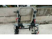 Bike rack from Halford's for the car