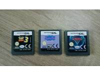 NINTENDO DS CARS 2 TOY STORY 3 PEPPA PIG GANES