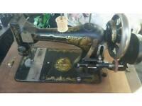 Antique 1873 Singer Hand Crank Sewing Machine