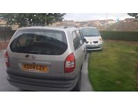 For Sale Zafira 1.6 7 seater