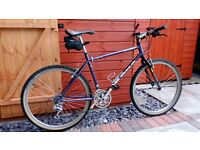 "Kona Lavadome 18"" refurbished with mainly XT drive and brakes."