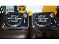Pair of Stanton T.60 Direct Drive Turntables