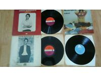 "6 x loudon wainwright vinyl LP's + promo 7"" singles"
