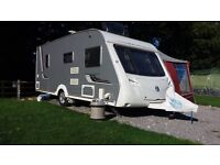 Swift Conquerer 540 2008, Full Isabella Awning, motor mover, End bed, very good condition