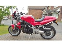 Immaculate 2001 Triumph Speed Triple 955i with very low miles
