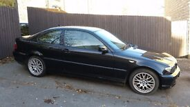 Bmw coupe 2005 in black