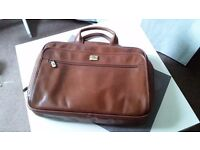 Pierre Cardin High Quality Laptop bag MENS Genuine Leather