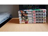 One Punch Man manga 5 volumes
